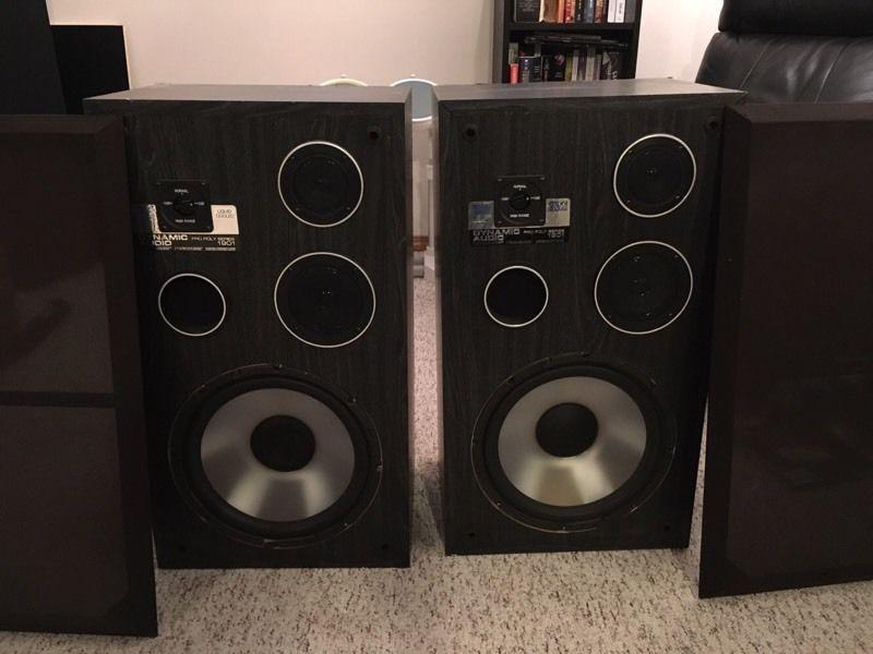 Dynamic Audio speakers
