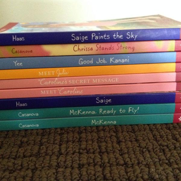 9 American girl books