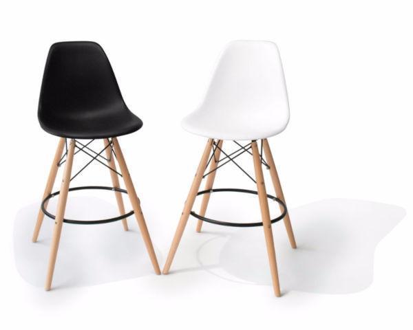 $129 | Eames Style Eiffel Bar Stool Counter Barstool Mid-Century