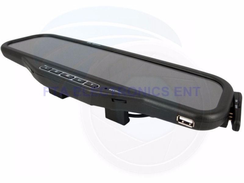 Bluetooth Car Rear View Mirror MP3 and Parking Camera Sensors