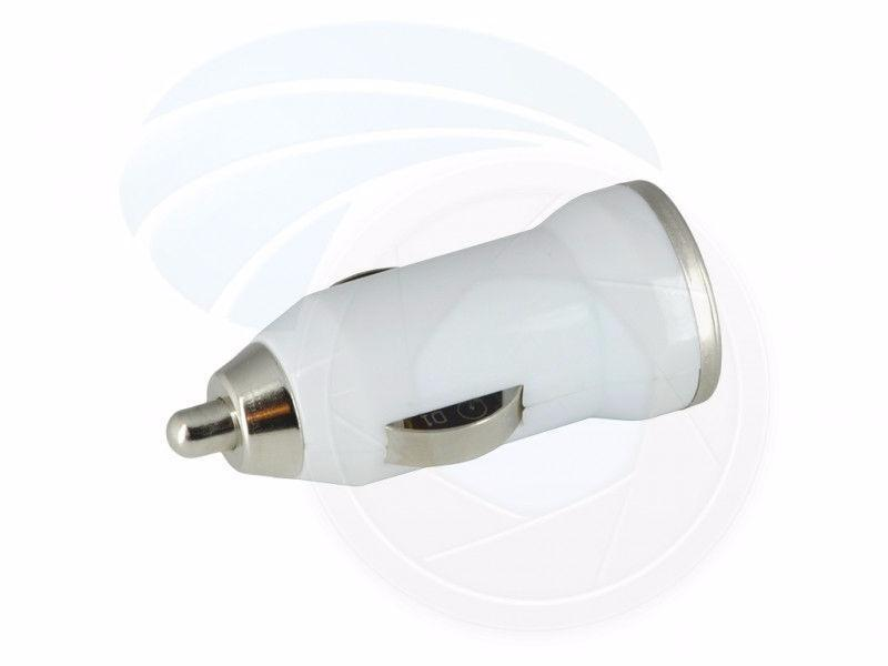 Portable Mini Dual USB Car Charger for Smartphone iPhone 5V 1A