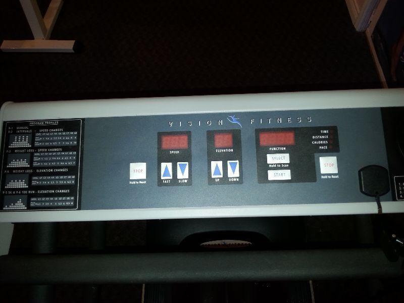 Vision Fitness Treadmill T7400