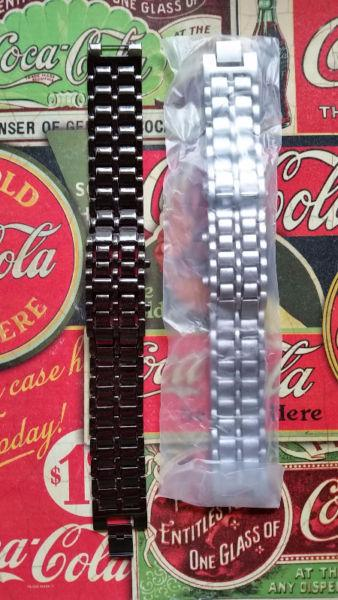 Ninja Watches - Black & Silver - Brand New