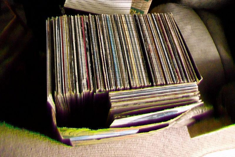 Box Of 150 Various Records