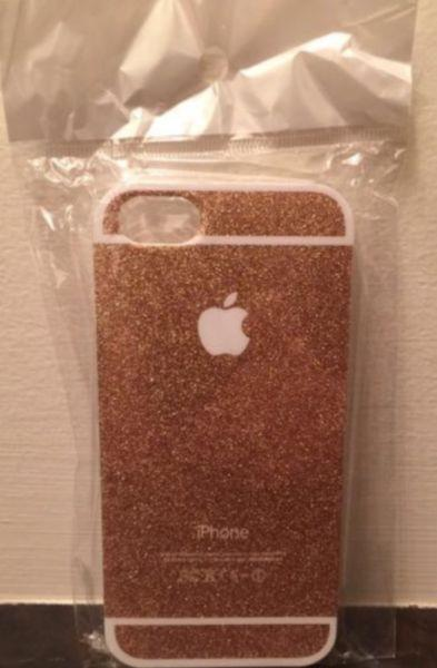 Brand new! Gold sparkle iPhone 5S case - $15