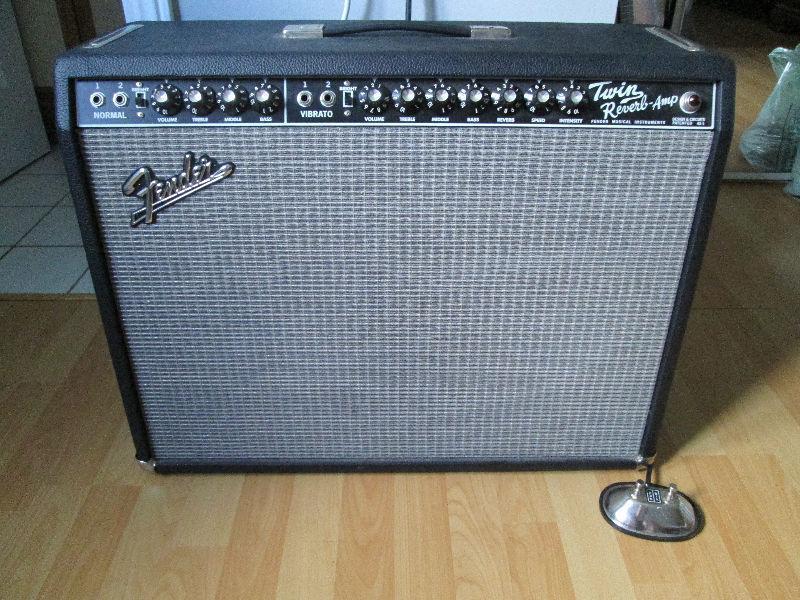 Fender Twin Reverb '65 reissue