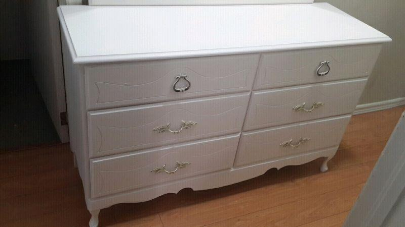 Solid wood dresser..can deliver