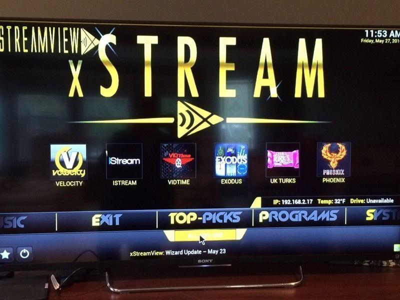 XStreamview Android TV Boxes