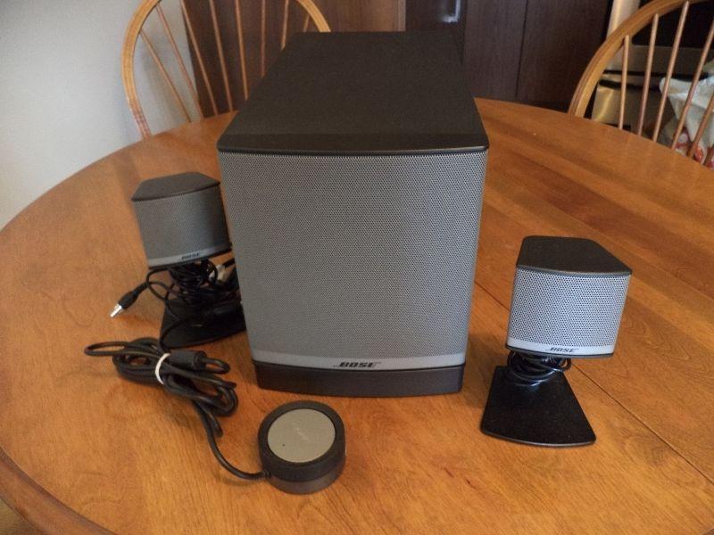 Bose speakers for computer...haut-parleurs Bose pour ordinateur