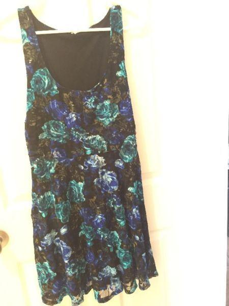 Dress Eclipse brand blue/black