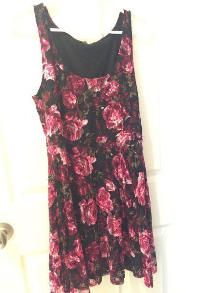 Dress Eclipse brand Pink/black