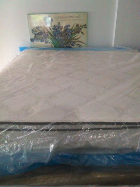BRAND NEW SEALEY KING PILLOWTOP Mattress --DELIVERY IN HRM