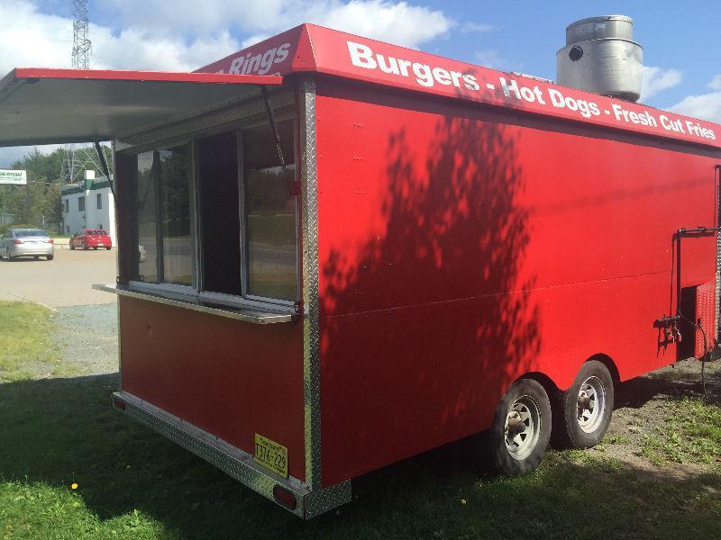 8x16 food trailer