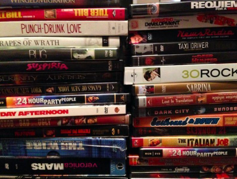 DVD collection for sale (DVDs, TV box sets, Blu-Rays)