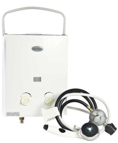 SALE Marey Portable 5L Tankless Water Heater Shower Kits!