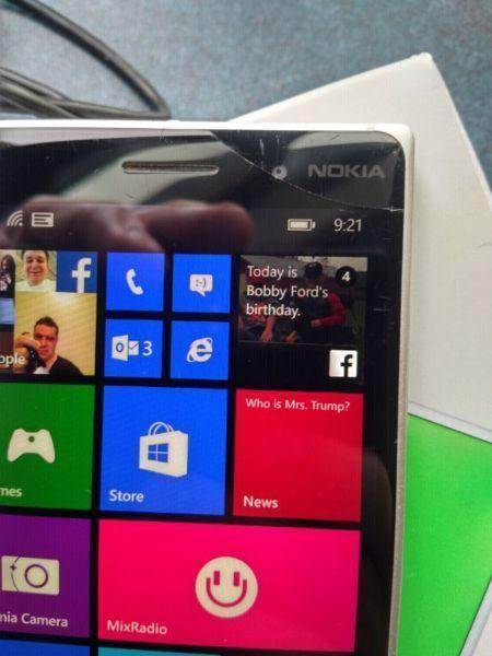 Nokia Lumia 830 Windows 10