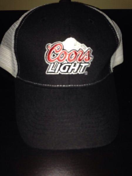 Coors light beer baseball cap hat