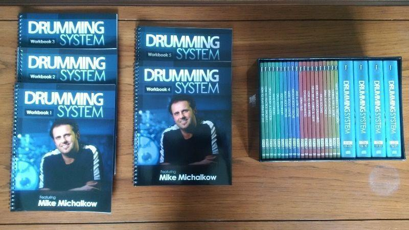 Drumming system by Mike Michalkow