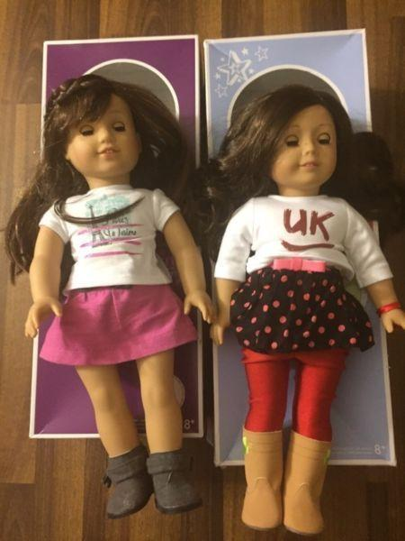 American girl dolls and clothes