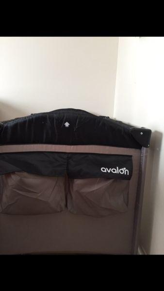 Crib-parc bed