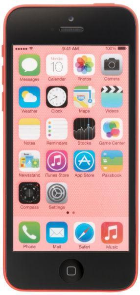 ✅ Apple iPhone 5C 16GB Bell Virgin LTE Pink A1532 Warranty M27