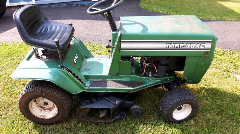 Turf Track lawn mower tractor