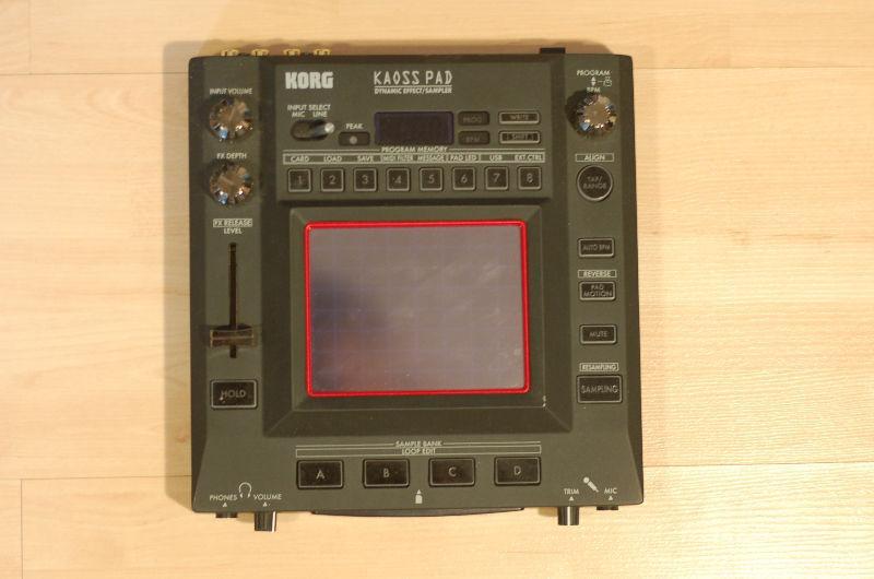 Korg KP3 Kaoss Pad Dynamic Effect/Sampler