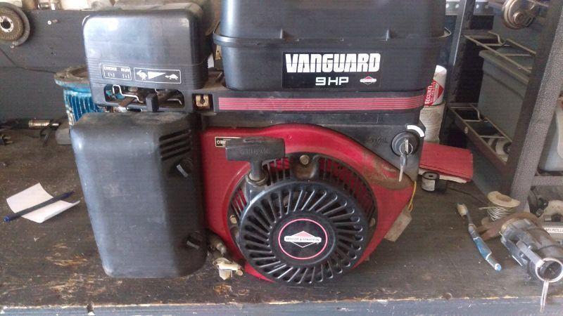 Electric Start 9 HP Horizontal shaft motor