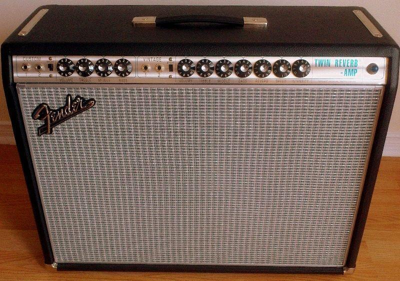 Fender Twin Silverface 1968 reissue 1444 + taxes