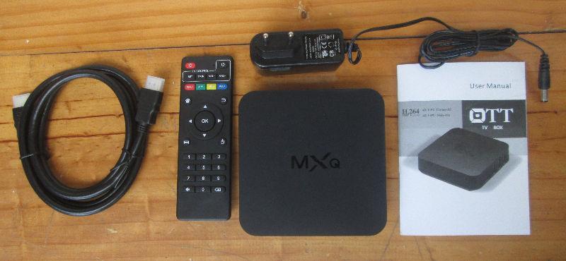 M8S MXQ MX3 MXIII: ANDROID BOX/ BOITE ANDROID KODI