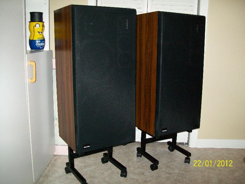 Caisses de son « Kenwood » 250 W