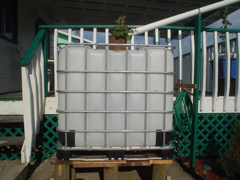 RAIN BARREL TANKS