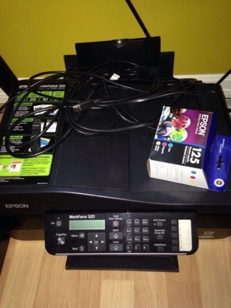 Epson printer + brand new ink cartridge