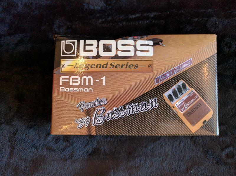 Boss Legend Series Fender '59 Bassman Emulation Pedal