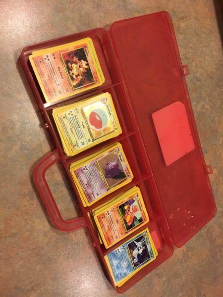 First Generation Pokemon Cards - Complete Base Set!