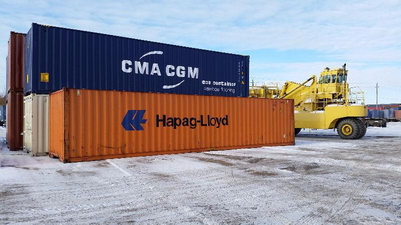Shipping and Storage Containers for Sale - Sea Cans - 40ft & 20f
