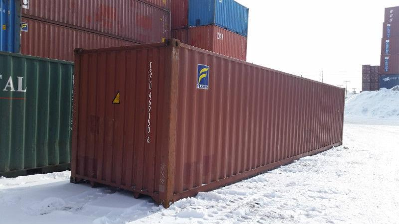 Shipping Containers - SEA CANS For Sale