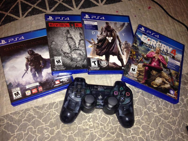 Assorted Electronics for Sale! GoPro 2 // PS4 Stuff // N64 Cons
