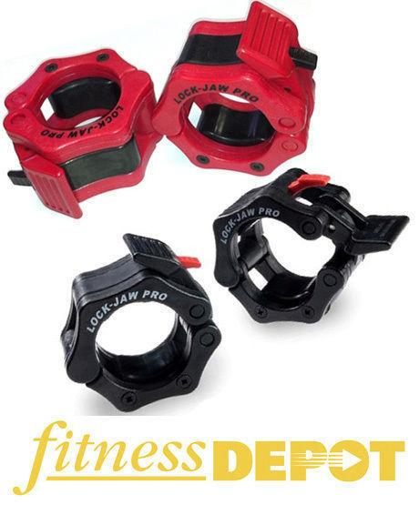 Brand New Lock Jaw Pro Hex CrossFit Olympic Collars SALE! WCOLJP