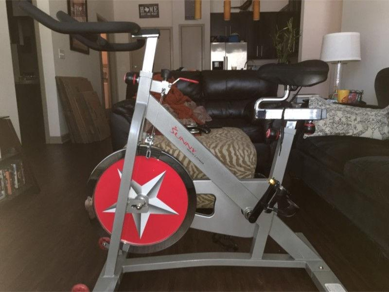Personal exercise spin bike professional grade $260