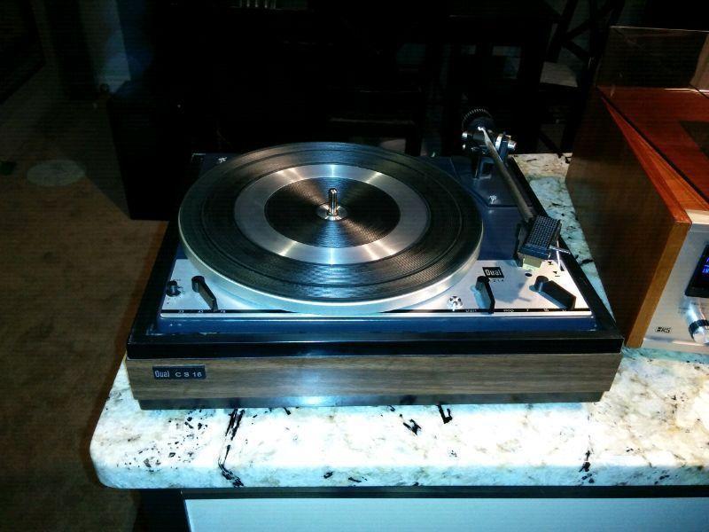 Dual 1214 vintage turntable