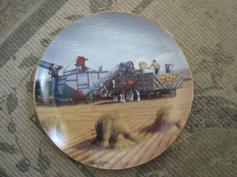 Terry McLean Collector's Plates