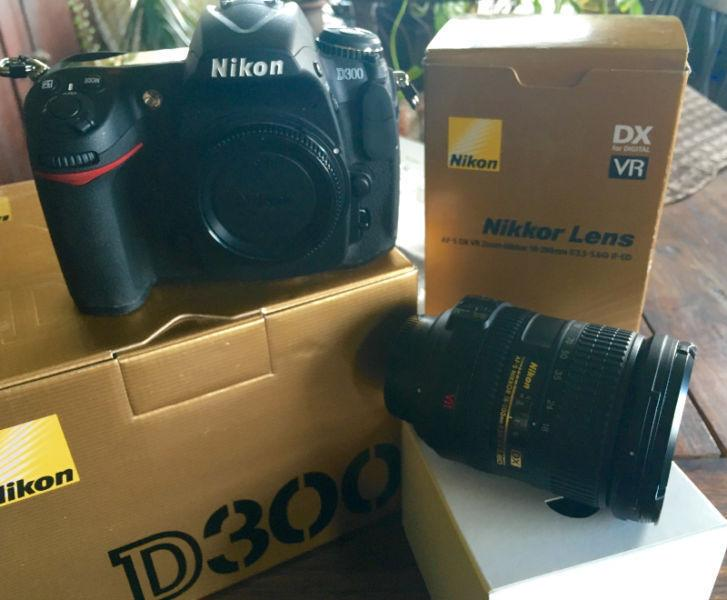 Brand new NIKON D300 Camera and Nikon 18-200mm Lense For Sale