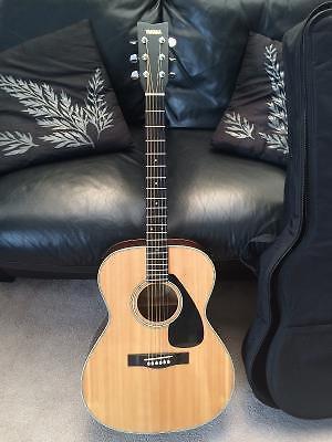 Minty 1 Owner 1982 Yamaha SJ-180 OM size acoustic guitar w/Bag