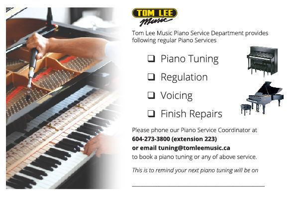 PIANO TUNING, VOICING, REGULATION,FINISH REPAIRS & OTHER SERVICE