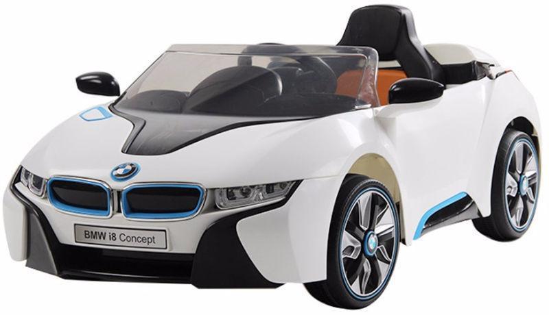 Brand New 12V BMW I8 Child Ride On Remote Music Radio