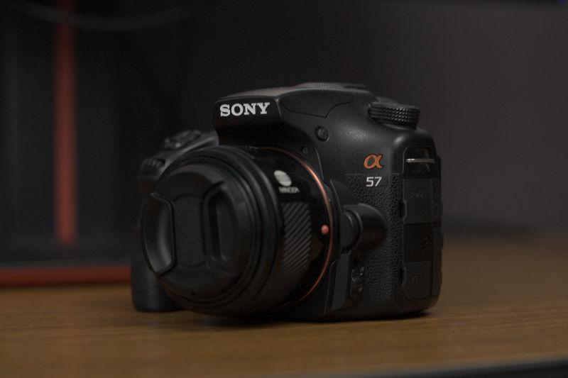 Sony Alpha A57 Body and Multiple Lenses