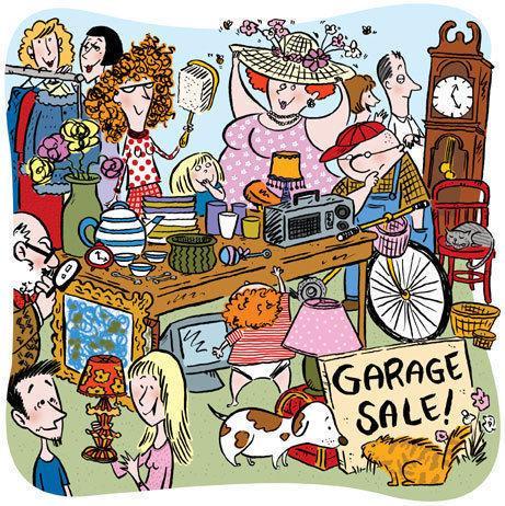 Multi-Family Garage Sale & Feline Groovy Open House