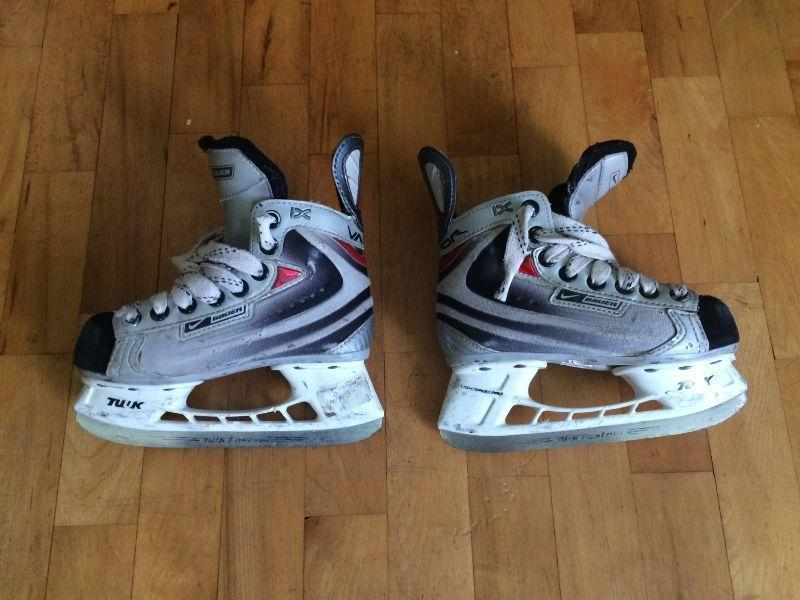 Nike-Bauer Vapor IX Skates Youth 11