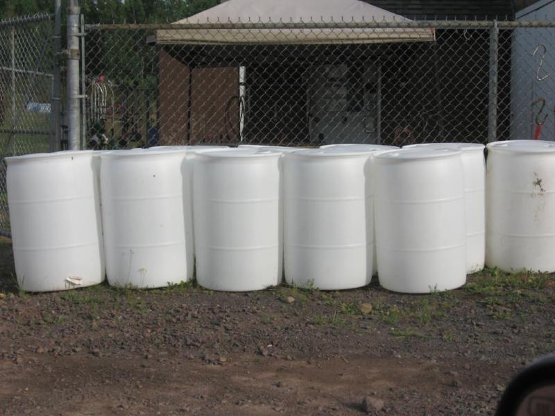 plastic containers and barrels for sale